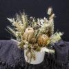 Dried Flower Pot Arrangement